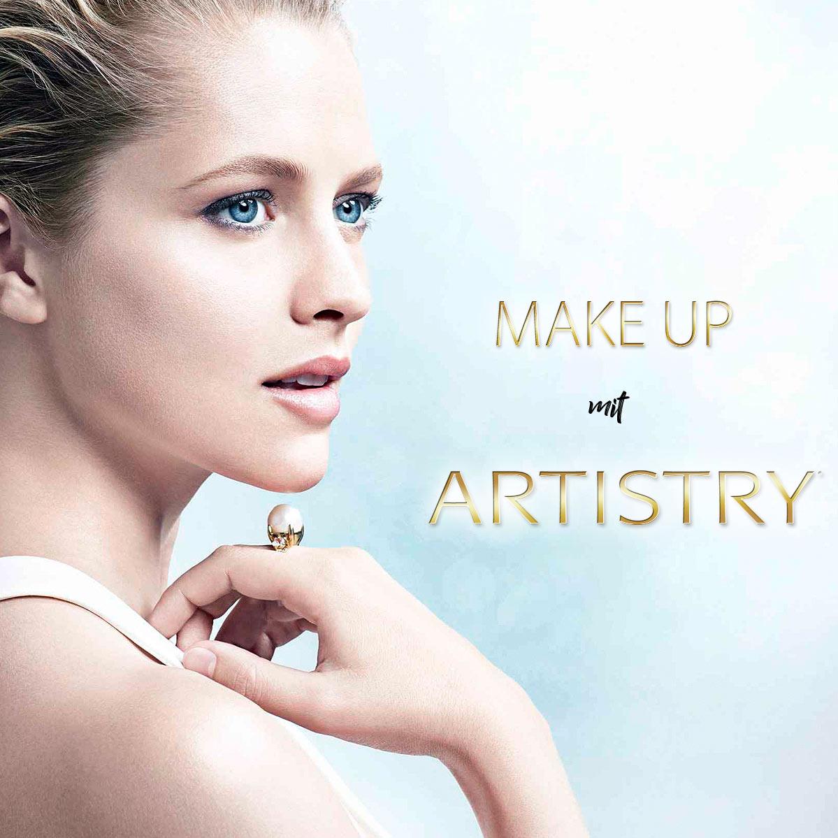 Make-Up und Visagistik